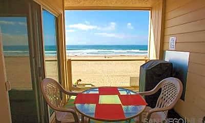 Patio / Deck, 3755 Ocean Front Walk, 1