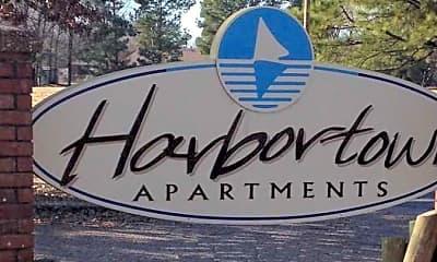Community Signage, Harbortown Apartments, 1