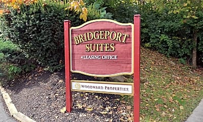 Community Signage, Bridgeport Suites, 1