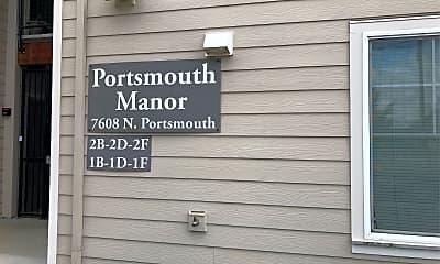 Portsmouth Manor, 1