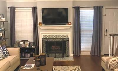 Living Room, 7500 Roswell Rd, 2