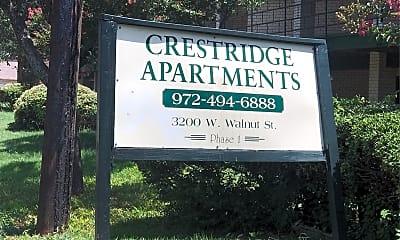 Crest Ridge, 1