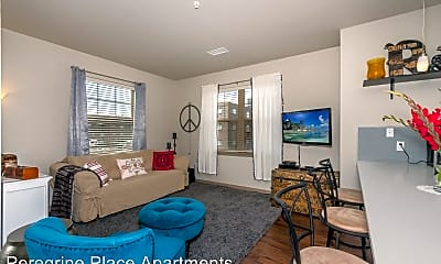 Living Room, Peregrine Place Apartments, 1