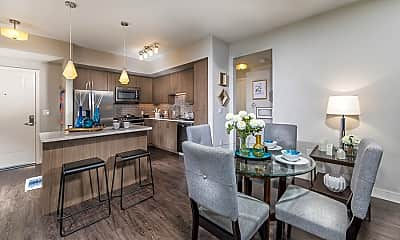 Kitchen, Rize Irvine Apartments, 0