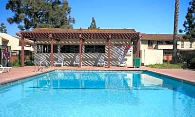 Pool, Villa Camarillo, 1