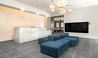 Living Room, 717 S Clark St 2807, 2