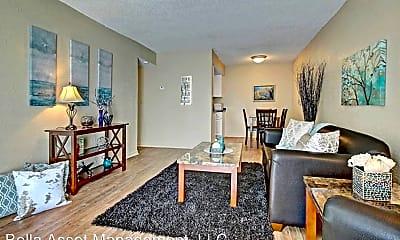 Living Room, 8502 E 66th Pl, 0