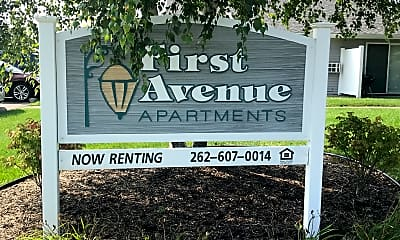 First Avenue Apartments, 1