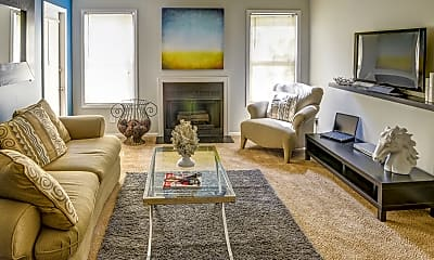 Living Room, Wood Creek at Roswell, 0