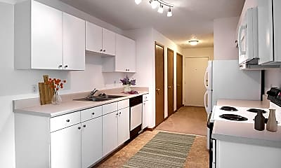 Kitchen, Flatwater Apartments, 1
