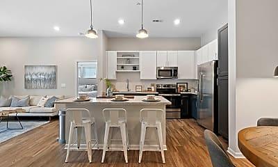 Kitchen, The Newton Apartments, 0