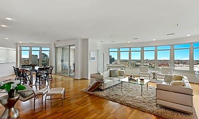Living Room, 100 Harborview Dr PH2A, 1