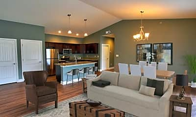 Living Room, Mill Hollow Apartments, 0
