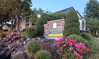 Community Signage, Forest Rim, 0
