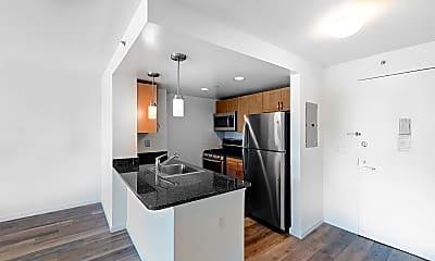 Kitchen, 229 Chrystie Street, Unit 713, 1