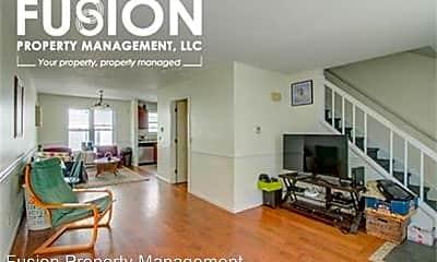 Living Room, 68 South Willard Street - Unit C, 2
