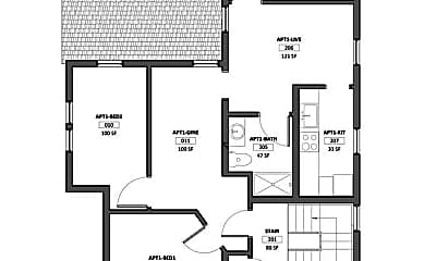 Bedroom, 110 Stewart Ave, 2