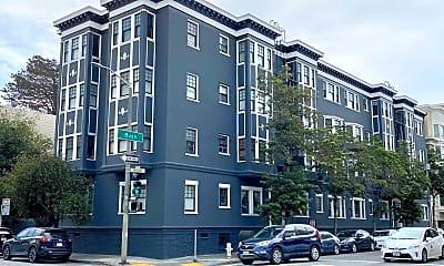 Building, 1701 Bush St, 0