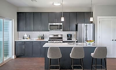 Kitchen, The Lofts at Monroe Place, 1