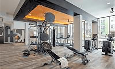 Fitness Weight Room, 100 Willard St, 2