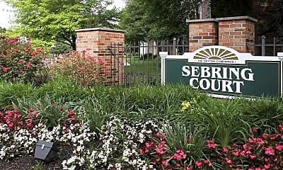 Community Signage, Sebring Court, 2