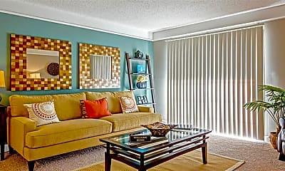 Living Room, Cape Landing Apartments, 0