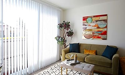 Living Room, Greenwood Place Apartments, 1