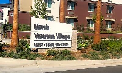 March Veterans Village, 1