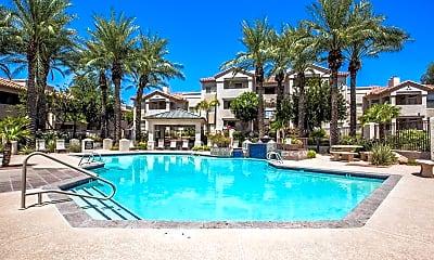 Pool, Portofino Condominiums, 1