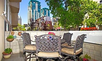 Patio / Deck, 221 Island Avenue #101, 2