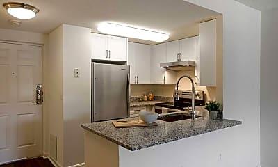 Kitchen, eaves Washingtonian Center, 1