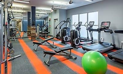 Fitness Weight Room, MAA Piedmont Park, 2