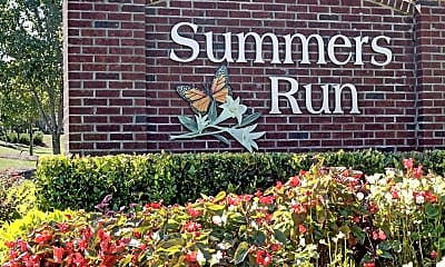 Community Signage, Summers Run, 1