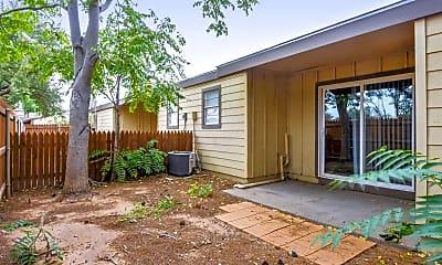 Patio / Deck, Courtyard Apartments, 2