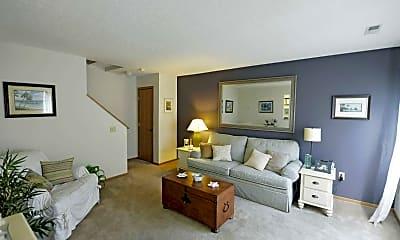 Living Room, Crosswinds Village, 1