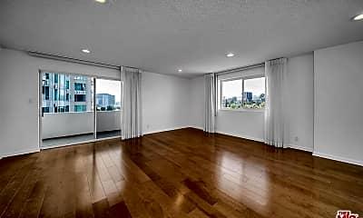 Living Room, 10717 Wilshire Blvd 611, 1