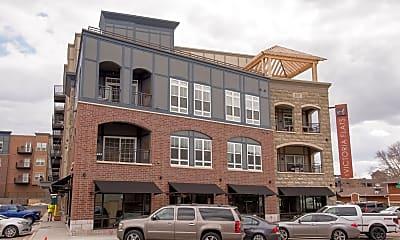Building, Victoria Flats, 1