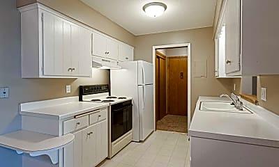 Kitchen, Riverwest Apartments, 0