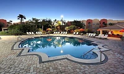 Pool, Mission Club Apartments, 1
