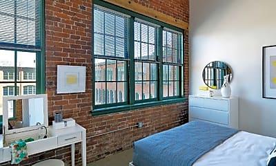 Bedroom, Watch Factory Lofts, 2