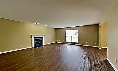 Living Room, 1301 Blairfield Drive, 1