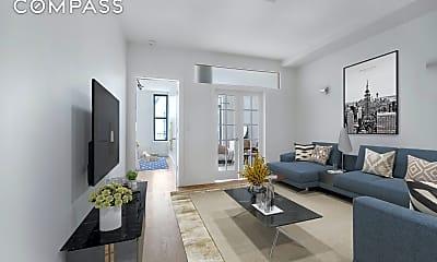 Living Room, 1263 Broadway 2-R, 1