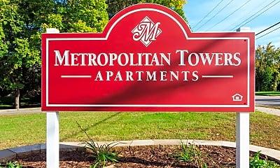 Community Signage, Metropolitan Towers, 2