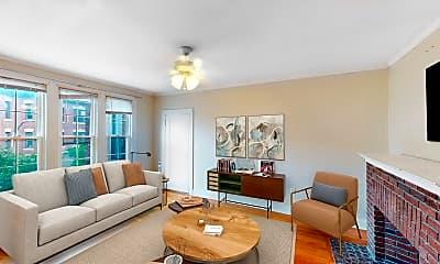 Living Room, 15 Glenville Avenue, Unit 12A, 0