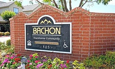 Community Signage, Bachon Townhomes, 2