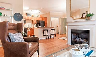 Living Room, IMT Lone Tree Apartments, 1