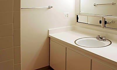 Bathroom, Riverside Village, 2