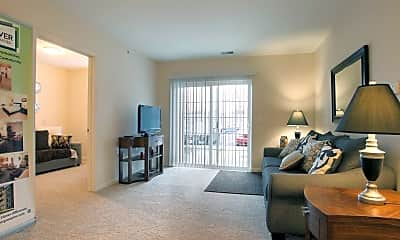 Living Room, Parma Village Senior Apartments, 1