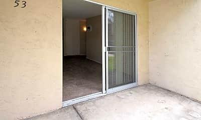 Patio / Deck, Carroll Apartments, 2