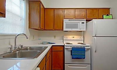 Kitchen, Brazos Park Apartments, 1